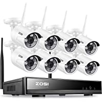 ZOSI Kit de Cámaras de Seguridad WiFi 960P