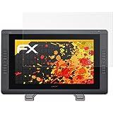 atFoliX Screen Protector for Wacom CINTIQ 22 HD Screen Protection Film - 2 x FX-Antireflex anti-reflective Protector Film