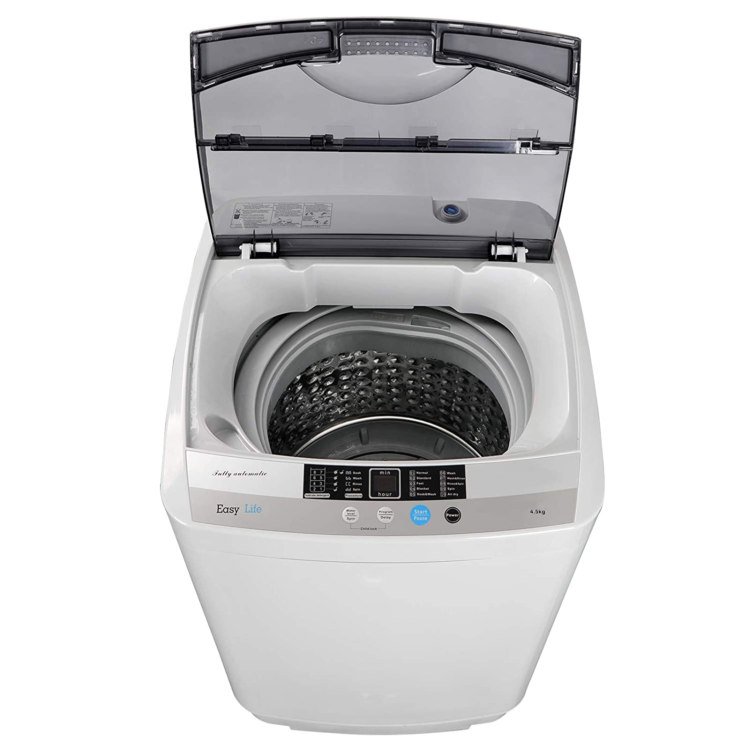 JupiterForce Portable Full-Automatic 1.6 Cu. ft. Washing Machine and Dryer 2in1 Laundry Washer& Spinner