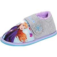 Disney La Reine des neiges 2 Pantoufles Lumineuses pour Fille Elsa Anna Kids avec Doublure Polaire et lumières Clignotantes
