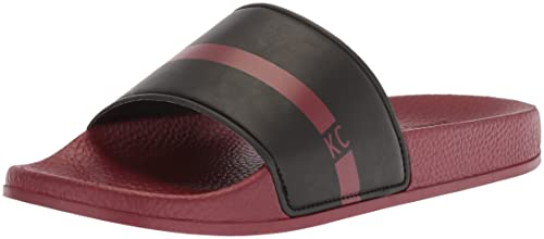 f94a98f64 Kenneth Cole REACTION Men s Screen Slide Sandal Black red 7 ...