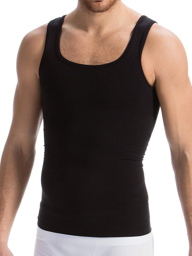 Farmacell Man 418 (Negro, S) Camiseta de algodón para Hombres con compresión Total: Amazon.es: Ropa y accesorios