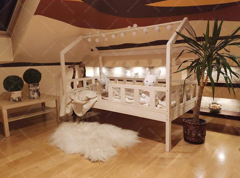 Oliveo - Cama para niños, casa de casa, casa de niños, Cama ...
