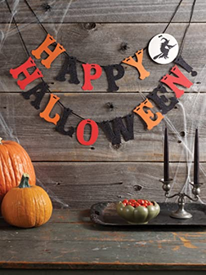 Martha Stewart Crafts Happy Halloween Garland