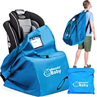 Car Seat Travel Bag for Airplane - Convertible Car Seat Bag – Car Seat Backpack for Airport Gate Check – Universal Fit…