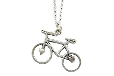 Bohemain jewelry chain with bicycle pendant amazon jewellery bohemain jewelry chain with bicycle pendant aloadofball Gallery