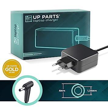 UP PARTS® NBP35P Serie Gold - Adaptador 45 W 19 V 2,37 A 1 ...