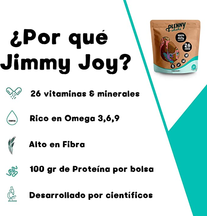 Jimmy Joy Café Plenny Shake, 5 Bolsas x 4.000 kcal, Sustituto ...