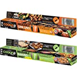 Cookina Barbecue & Cuisine Non-Stick Grilling and Cooking Sheet Combo Pack