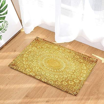 Amazon Knit Decor Creative Circle Patterns On Knit Mat Bath