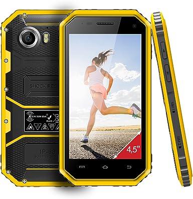 Rugged Smartphone, KENXINDA W6 IP68 impermeable SIM unlocked-wcdma ...