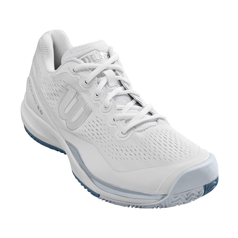 Blanc Bleu Clair Bleu 49 1 3 EU WILSON Rush Pro 3.0, Chaussures de Tennis Homme