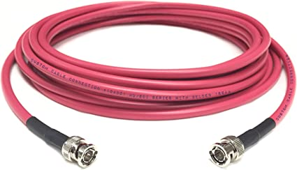 Belden 1694A HD-SDI RG-6 Digital Video Cable 4.5 GHZ BNC to BNC Male  125 ft