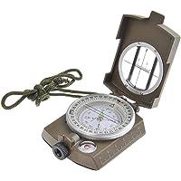 UDee Military Lensatic Prismatic Compass Copper Color