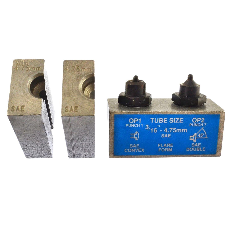 3/16' SAE tubazione dei freni della svasatura Flare utensile punzone e matrice singola / doppia FL43 AB Tools