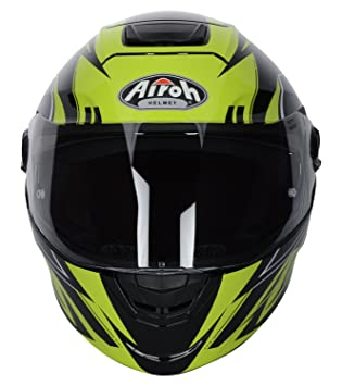 Casco Moto Airoh 2018 Storm Battle Amarillo Gloss (Xs , Amarillo)