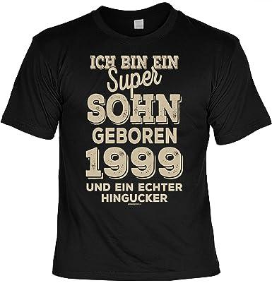 Cooles T Shirt Zum 20 Geburtstag T Shirt Super Sohn Geboren 1999