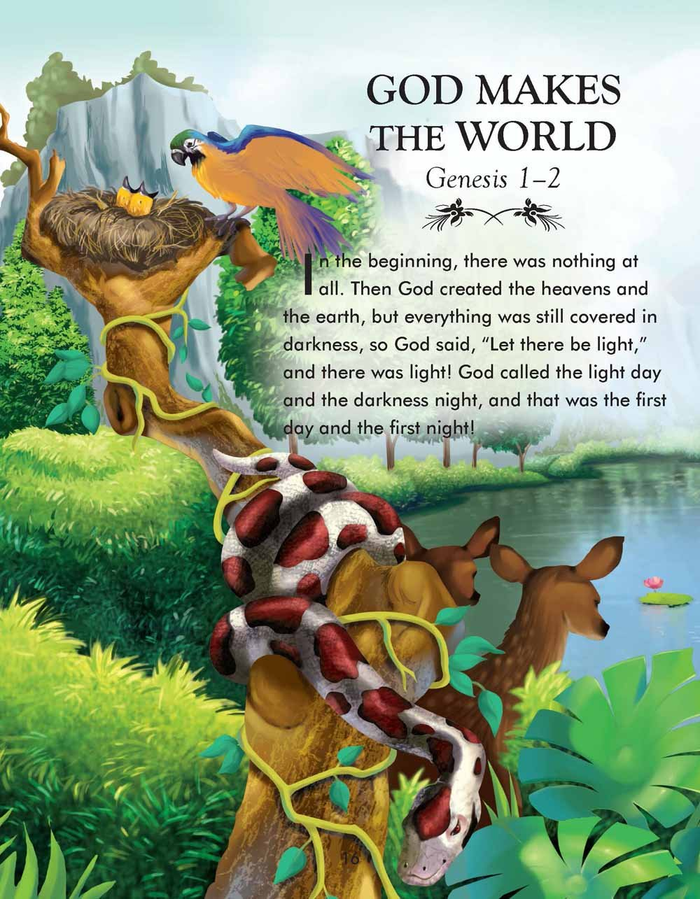 the complete illustrated children u0027s bible the complete