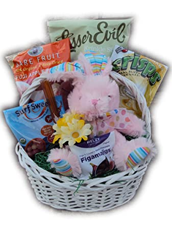 Healthy easter basket for children bunny love amazon grocery healthy easter basket for children bunny love negle Gallery
