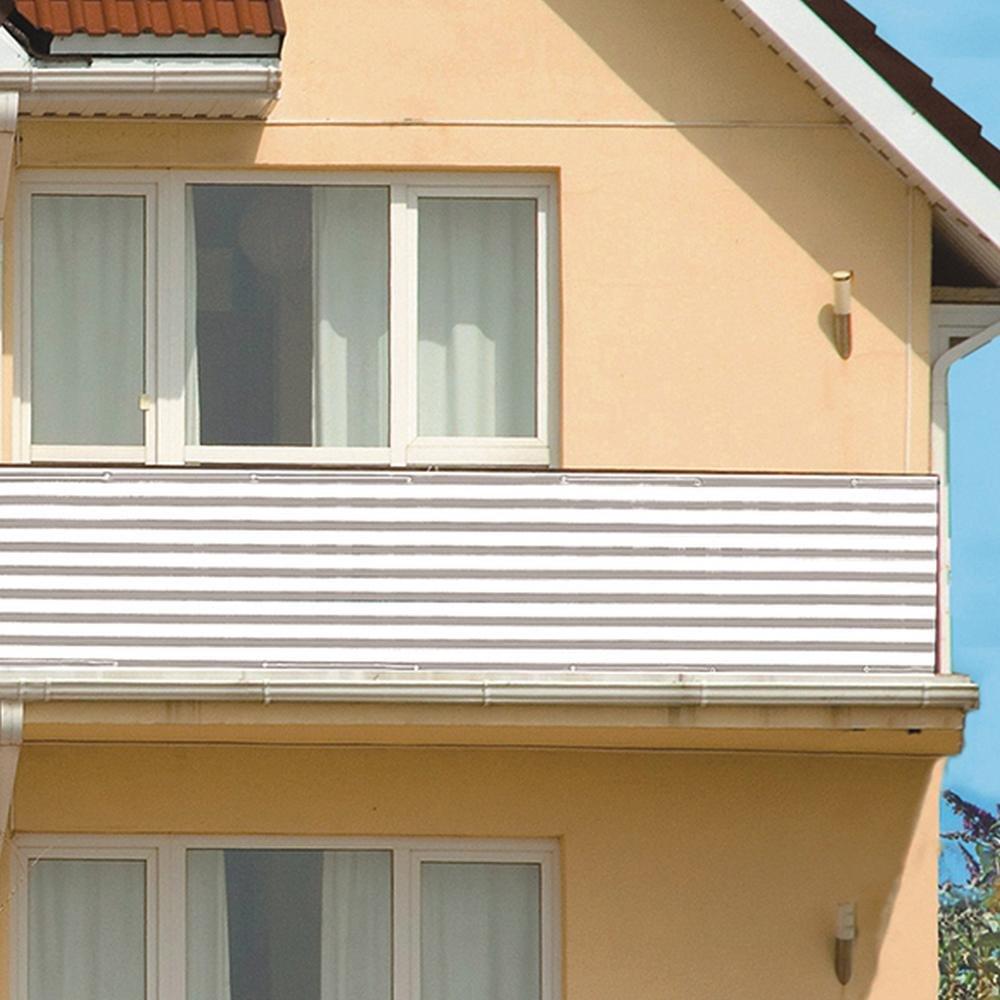 XCLOU GARDEN Balkonsichtschutz Windschutz 600 x 75 cm farblich