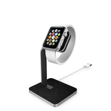 Amazon.com: Mophie Apple Watch Dock, talla única , Negro y ...