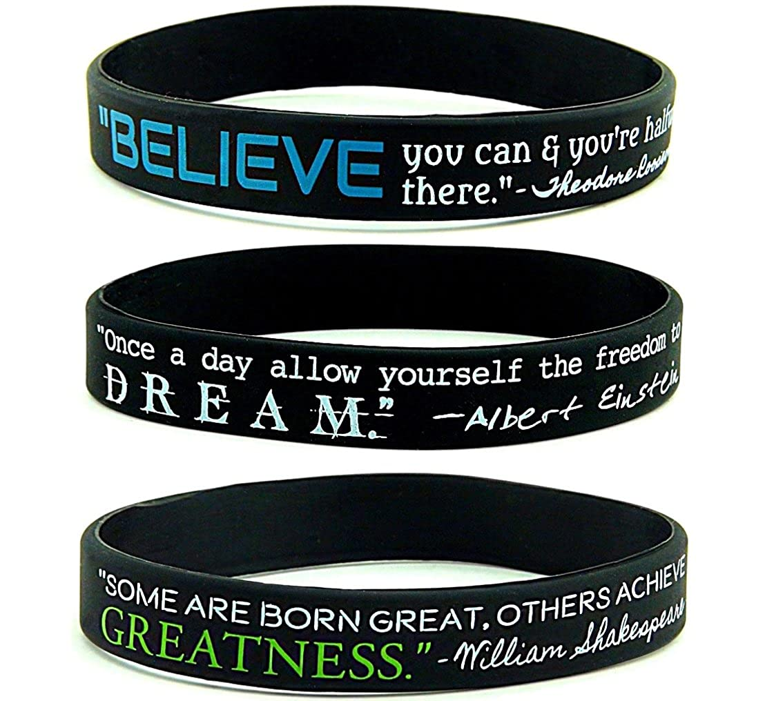 Amazon.com: (6-pack) Believe, Dream, Greatness - Inspirational ...