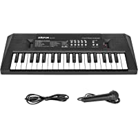 Shayson Piano for Kids, Electronic Keyboard Piano 37 Keys, Kids Piano Keyboard with Microphone, Multifunctional Keyboard…