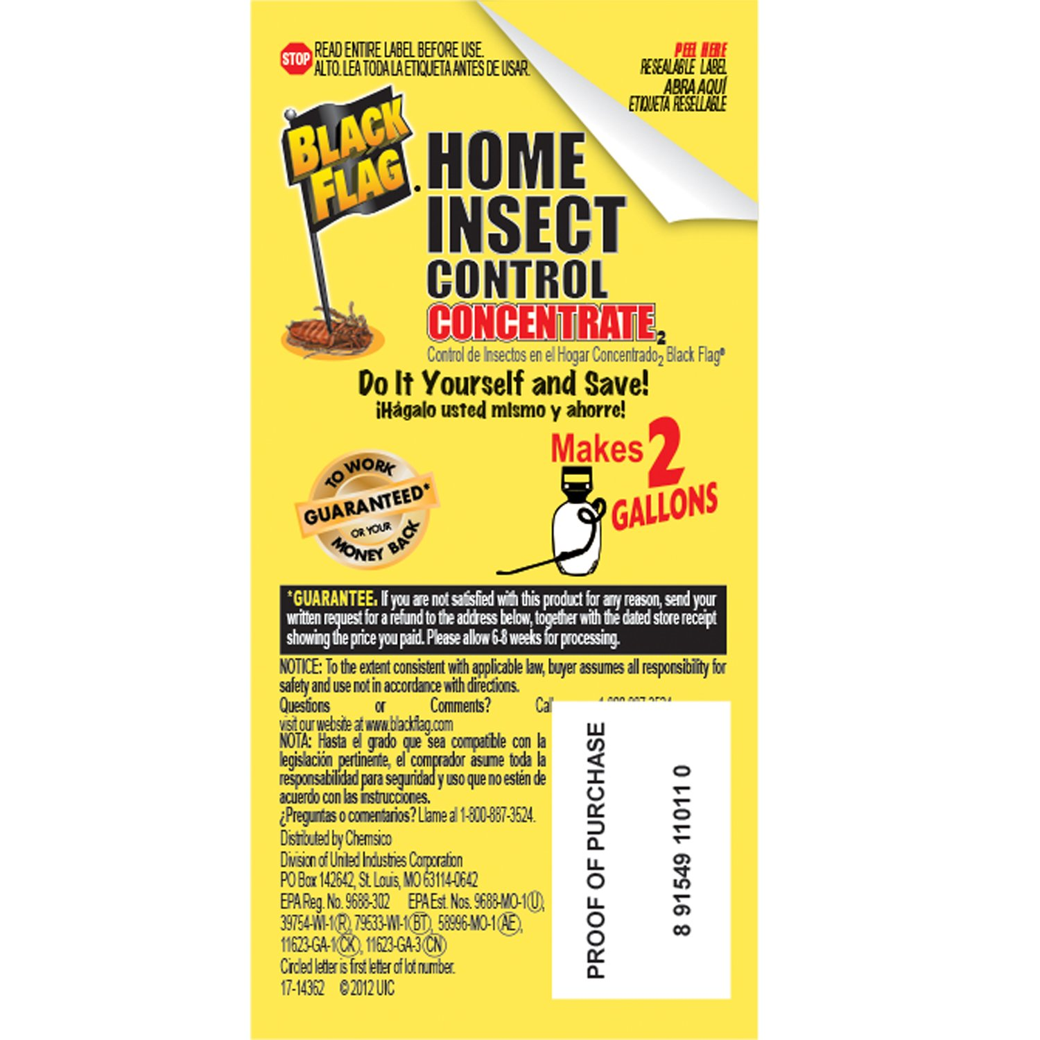 amazon com black flag home concentrate insect control insect