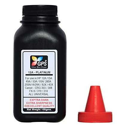 Gps 12A Platinum Quality Toner Powder 1 Bottle 100gms. Laser Printers at amazon