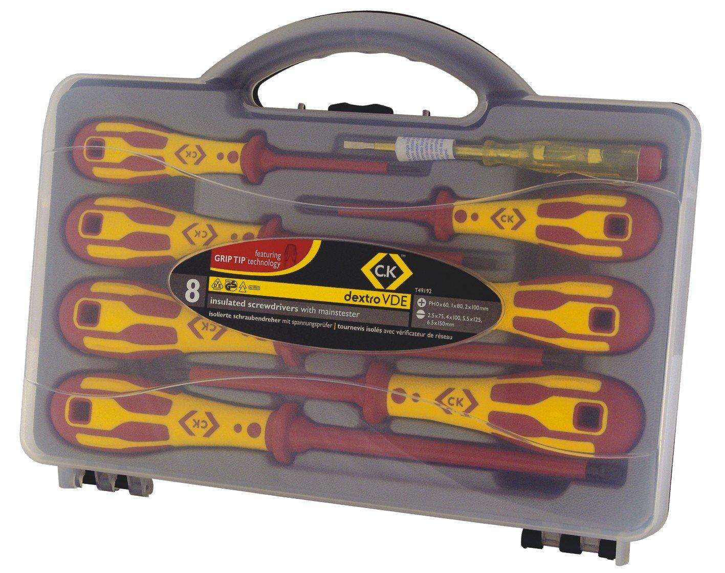 K Tools T4882X 000 Precision Phillips Driver PH000 x 2-3//8-Inch Shaft C
