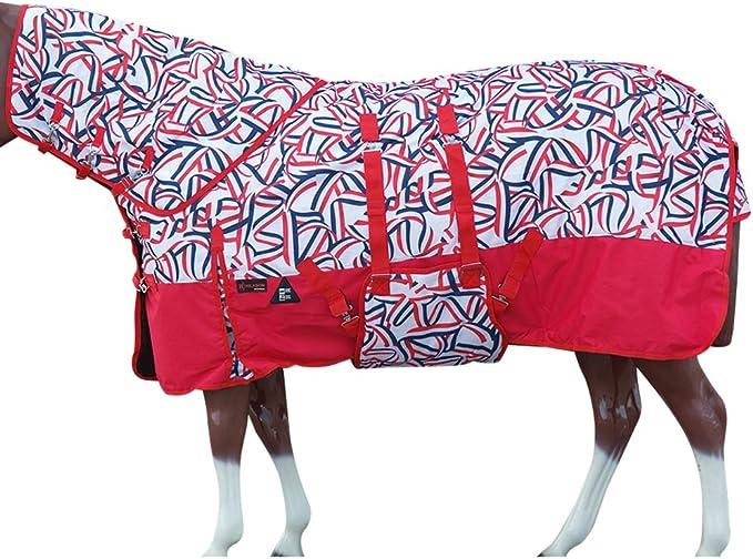 "66/"" 84/"" Hilason 1200D Turnout Winter Horse Neck Cover Belly Wrap Blanket U-URNB"