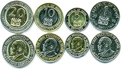 T-4 5 10 20 50 Cents Animal Original UNC 1 Shillingi Tanzania Set 5 Coins