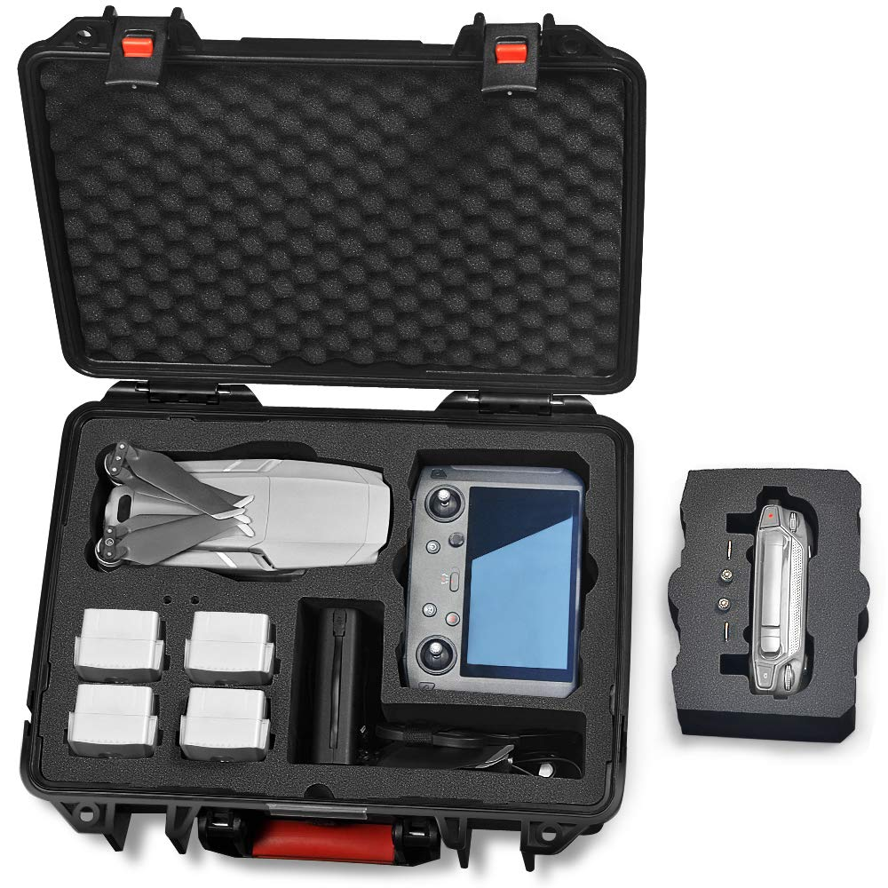Lekufee Professional Carrying Case Compatible for DJI Mavic 2 Pro//Zoom with New DJI Smart Controller