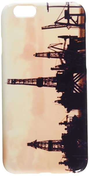 Amazon com: Oil Drilling Rig Silhouette cell phone cover