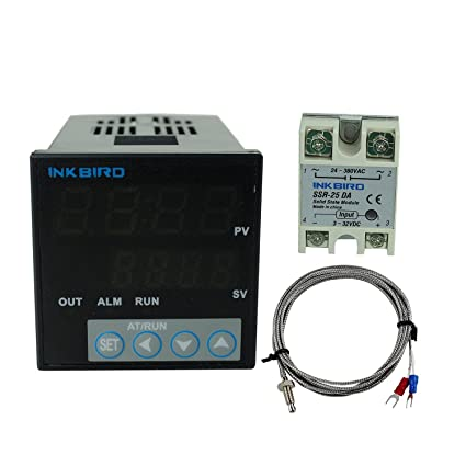 Inkbird ITC-106VH PID Termostato Digital , Rele 220 V Controlador Temperatura Enfriamiento&Calefaccion,Termometro
