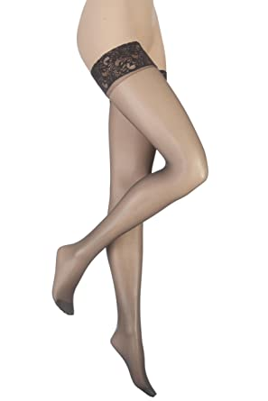 471654a3cb043 Ladies 1 Pair Charnos 10 Denier Run Resist Hold Ups In 4 Colours:  Amazon.co.uk: Clothing