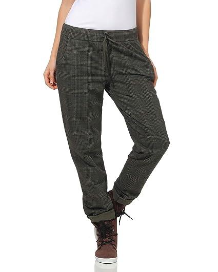 ZARMEXX Pantalon de survêtement en Coton pour Femmes Pantalons à Carreaux  85095 à l intérieur d un Doux Petit ami brossé  Amazon.fr  Vêtements et ... 5f2fada25cf