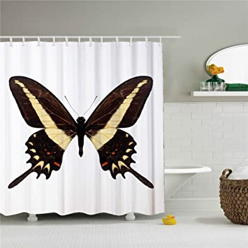 Image Unavailable Not Available For Color Butterfly Blessings Shower Curtain