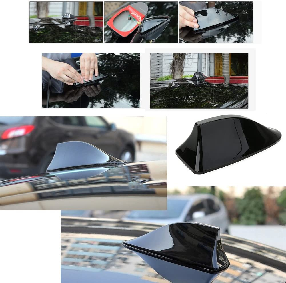 Sliver Roof Decorative Antenna Aerial Universal For Lexus Corolla Nissan Toyota