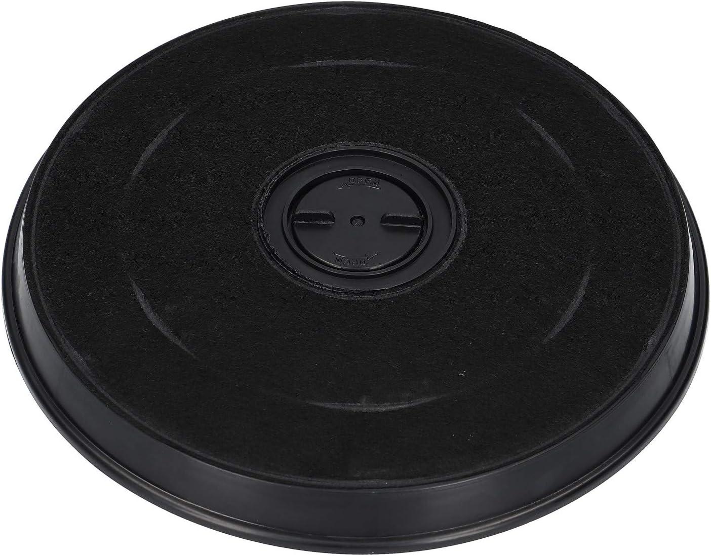 LUTH Premium Profi Parts Filtro de carbón activado DKF7 233mm para la campana extractora Miele 4965503 4965502