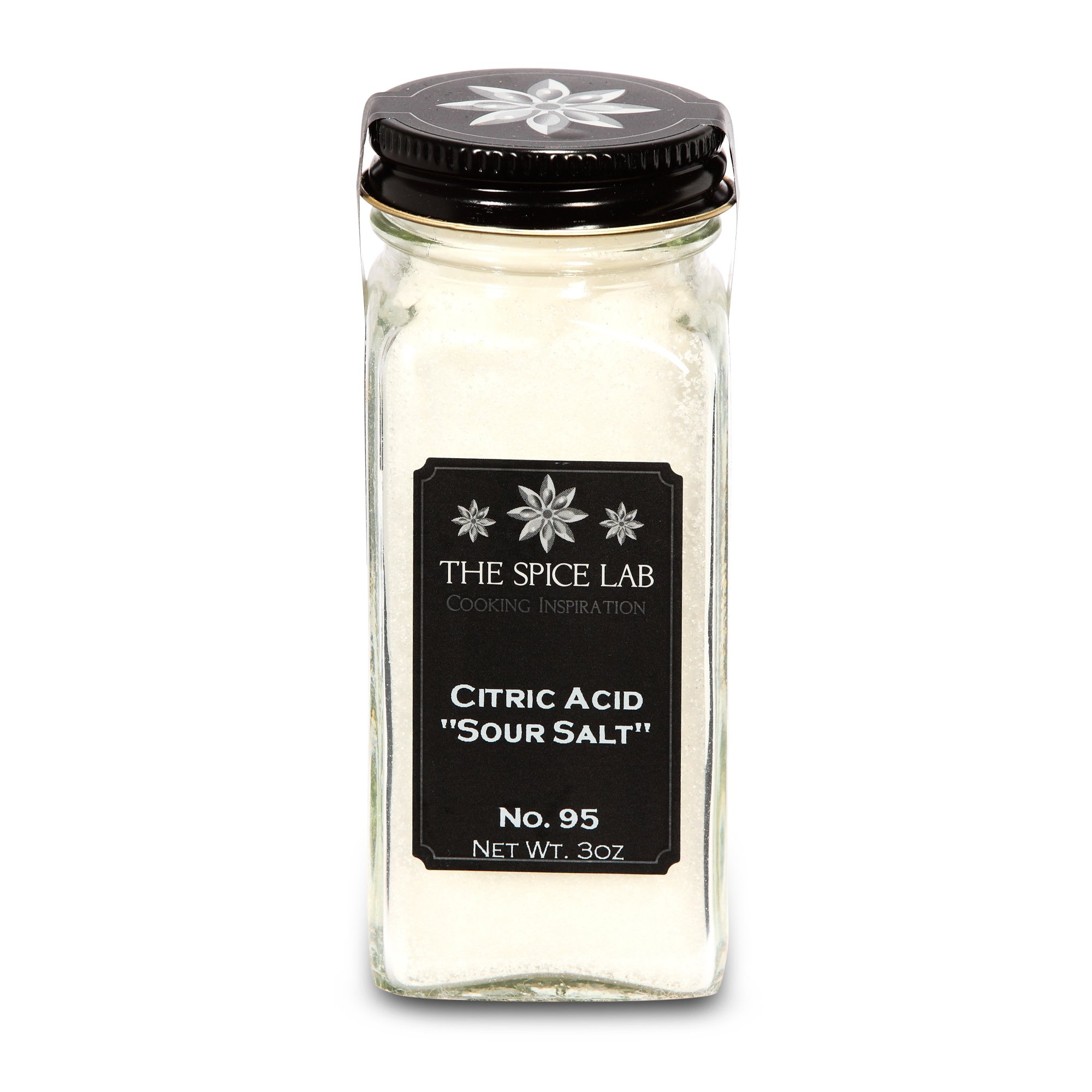 The Sugar Lab Citric Acid – (3 oz French Jar) Made in USA 100% Pure Food Grade Verified for Organic Foods - Kosher Gluten-Free Non-GMO by the sugar lab (Image #1)