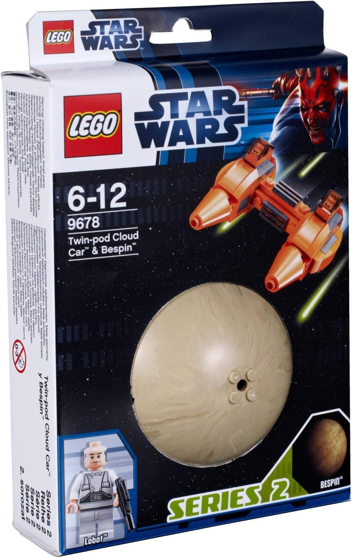 LEGO Star Wars Set 9678 Twin-pod Cloud Car Bespin Planet Series 2 Lobot minifig