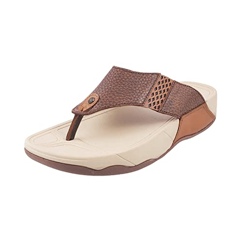 91f02ca59 Mochi Men Leather Sandals (16-9096)  Buy Online at Low Prices in India -  Amazon.in