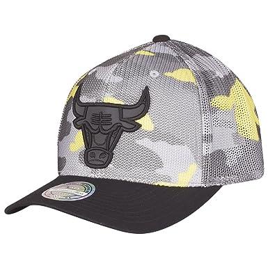Mitchell & Ness Gorras Chicago Bulls Flou Camo 110 Adjustable ...