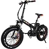 Addmotor MOTAN Electric Bikes Folding 750W 20Inch Fat Tire Electric Bicycle 48V 11.6AH Lithium Battery Mountain Snow Beach M-150 Platinum E-bike 2018
