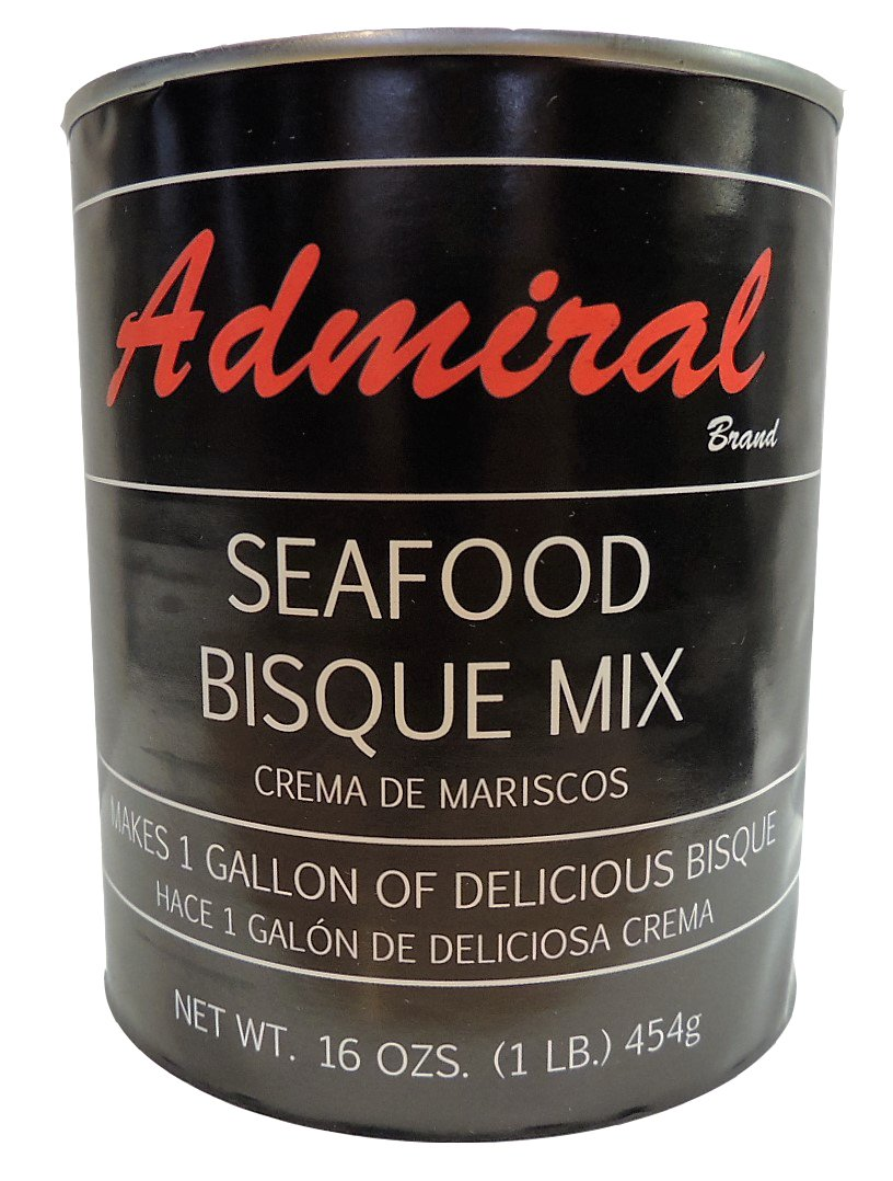 Admiral Seafood Bisque Base 16 Oz (3 Pack)