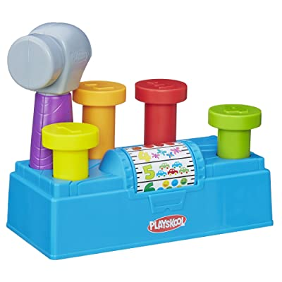 Playskool Tap n Spin Toolbench: Toys & Games