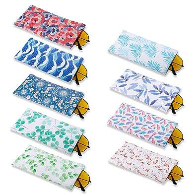 FANTESI Paquete de 9 Bolsas para Gafas, Gafas de Sol ...