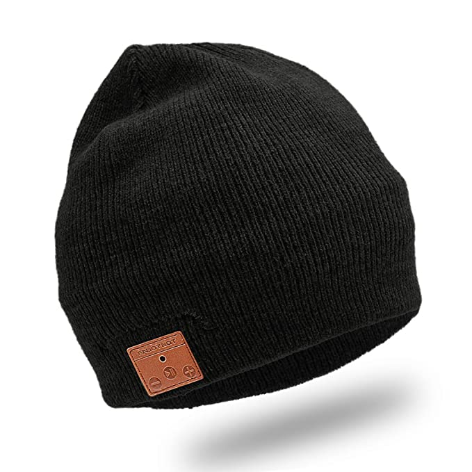 b79474e241c Image Unavailable. Image not available for. Color  Enjoybot Bluetooth  Beanie Wireless ...