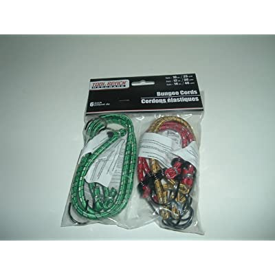 Bungee Cords (6) [5Bkhe0410338]